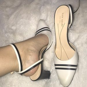 Just in- Kate Spade strapped heels.